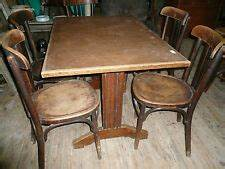 Table Bistrot Ancienne : 4 chaises bistrot ikea ebay ~ Melissatoandfro.com Idées de Décoration