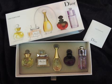 Christian Dior Les Parfums Miniature Collection 5 Piece