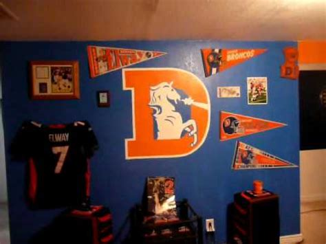 sickest broncos room  part  youtube