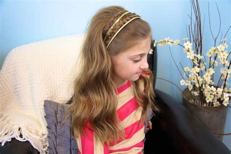 double braid sparkly headband braided headbands cute