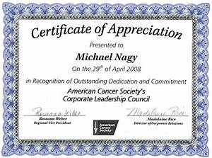 nice editable certificate of appreciation template example With template for a certificate of appreciation
