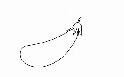 Brinjal Drawing Draw Step Kg Bforball Lessons