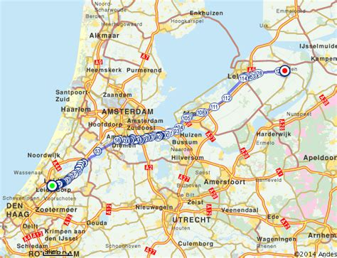 anwb routeplanner fiets