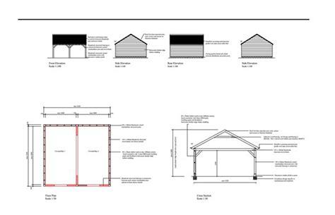 Planning & Building Regulation Drawings  Double Garage