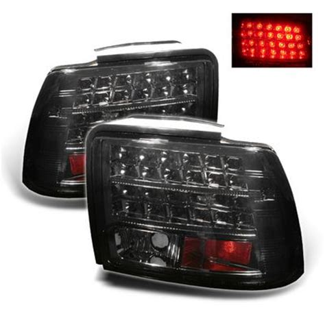 2004 mustang tail lights ford mustang 1999 2004 smoked led tail lights
