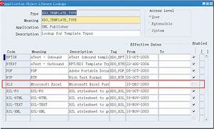 xml publisher template type microsoft excel patch With date format in xml publisher template