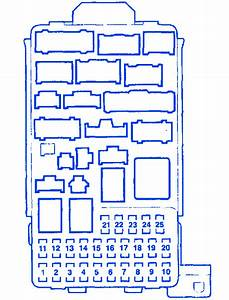 Honda Crv 2 2 2002 Fuse Box  Block Circuit Breaker Diagram