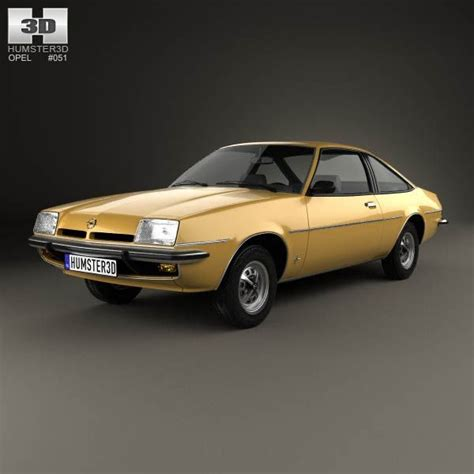 1975 Opel Manta by Opel Manta B 1975 3d Model From Humster3d Price