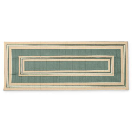 reversible patio mats 8 x 20 classic border reversible patio mat 8 x 20 660943