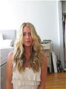 Beach Waves with Flat Iron