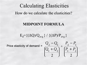 Chapter 6 Elasticity Responsiveness of Demand and Supply ...