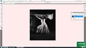 Créer Un Cadre Photo : photoshop cr er un cadre autour d 39 une photo youtube ~ Melissatoandfro.com Idées de Décoration