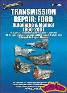 Ford Transmission Manual Shop Service Repair Book