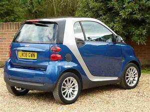 Smart 2008  08  Fortwo 1 0  84bhp  Semi A Passion With Power Steering
