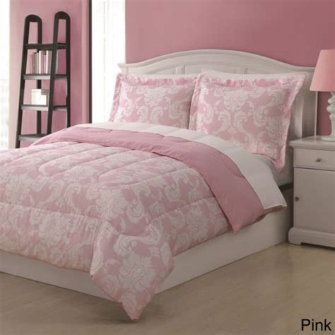 Pink Bedding by Pink Damask Comforter Set Bedding Sets Bedspreads
