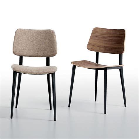 m chaise joe chaise midj en métal et bois en différentes