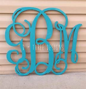 20 inch wooden monogram painted wooden letters monogram With 20 inch wooden letters