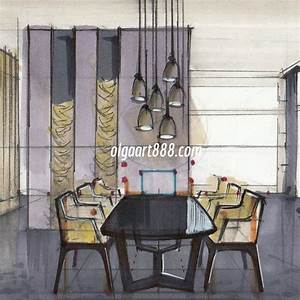 Interior sketching with markers: my video courses, book ...