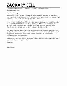 short cover letter examples for resume get the regarding With how to write a cover letter for construction job