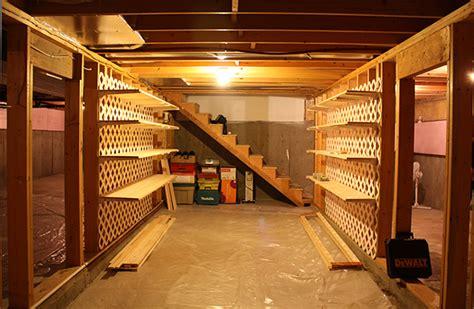 basement storage sheila zeller interiors unfinished