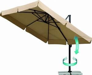 Sonnenschirme Rechteckig 2x3m : sonnenschirme marktschirme und ampelschirme von st bern sie jetzt im hellweg ~ Frokenaadalensverden.com Haus und Dekorationen