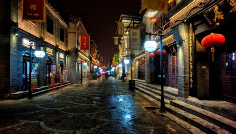 streets  beijing  ultra hd wallpaper background