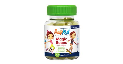 These are the ones that cause the sweet sweet effects of caffeine. ActiKid® Magic Beans Multi-Vitamin Apple Flavour. Multi-Vitamin Containing 12 Vitamins And ...
