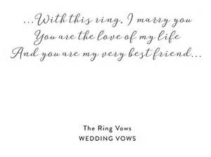 wedding script ceremony of the rings ring exchange with ceremony script snippet ink