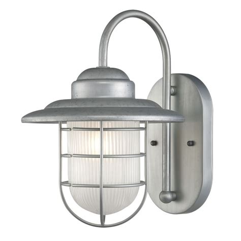 millennium lighting 5390 ga galvanized r series 1 light