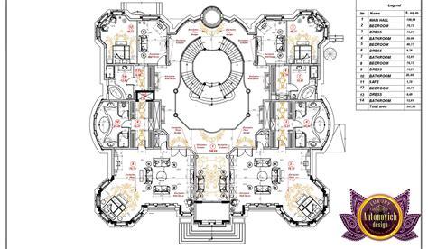 blueprint house plans luxury villa floor plan in uae