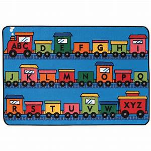 alphabet train kids value rugs schoolsin With alphabet train letters