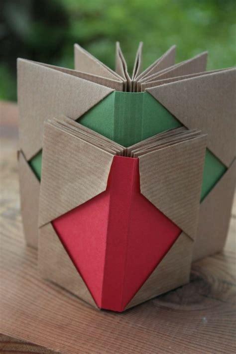 leporello basteln diy geburtstag weihnachtsdeko ideen