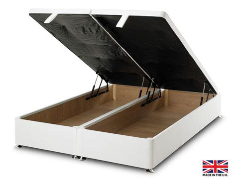 ottoman for foot of bed exclusive bed world white ottoman foot lift divan bed base