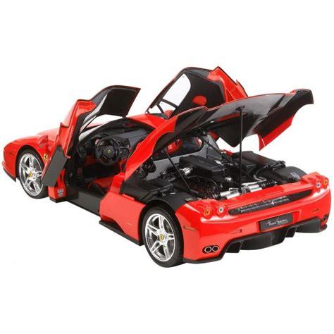 The model inside the box. Tamiya Enzo Ferrari - 1/12 Scale | 12047 - Up Scale Hobbies