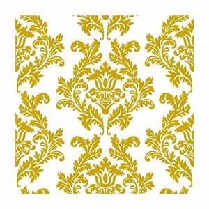 Serviette De Table Tissu Pas Cher : agr able deco de table mariage pas cher 14 serviettes en papier motifs baroque or blancx20 ~ Teatrodelosmanantiales.com Idées de Décoration