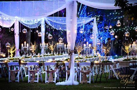 sugar  spice  crystal rainforest wedding
