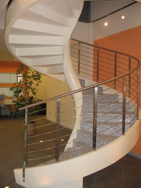 ringhiera in cemento scala elicoidale mod struktura d 280 scale e scale