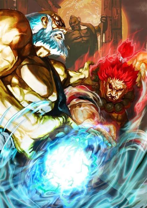Gouken Vs Akuma Street Fighter Tekken X Street Fighter