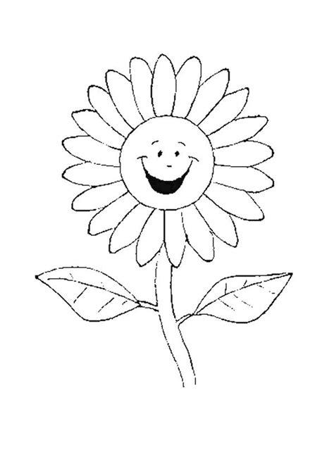 cuisine monde coloriage la fleur marguerite tout sourire