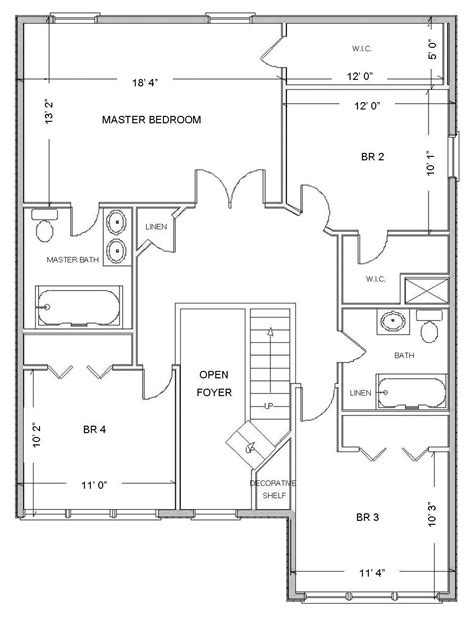 House Layouts by Simple Small House Floor Plans Free Plan Layouts Layout