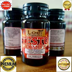 120 X Testo Bomb Strong Anabolic Max Strength Testosterone Muscle Gain Booster