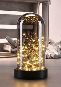 Glas Mit Lichterkette : deko glasglocke glocke glas mit mini led lichterdraht lichterkette draht ebay ~ Yasmunasinghe.com Haus und Dekorationen