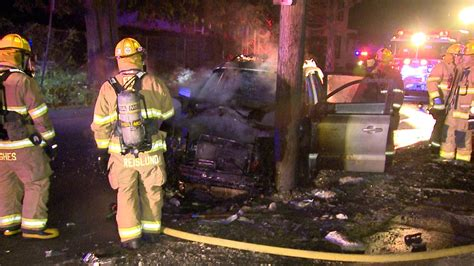 Man Rescued After Car Crash on Fire - Erie News Now   WICU ...