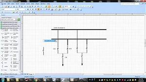 Visio 2007 Creating Diagram Substation Part 1