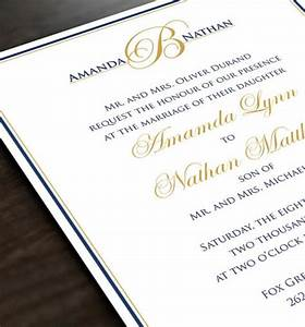 monogram wedding invitation personalized wedding invite With wedding invitations with embossed initials