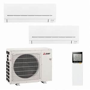 Climatiseur Bi Split : climatiseurs bi splits mitsubishi electric mxz 2f53vf 2 ~ Dallasstarsshop.com Idées de Décoration