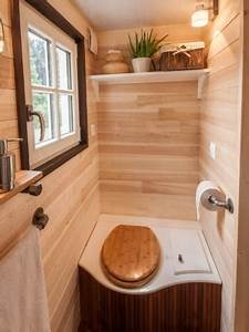 Toilettes Seches Interieur : tiny house la mini maison mobile d barque en france ~ Premium-room.com Idées de Décoration
