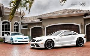 Beautiful Mansion with Cars