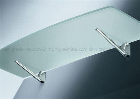 porta mensole vetro reggimensole confalonieri per mensole in legno o vetro