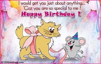 Birthday Funny Wishes Happy Friend Friends Animated